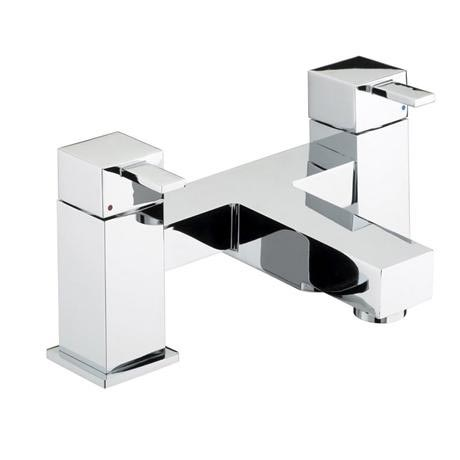 Bristan - Quadrato Bath Filler - Chrome - QD-BF-C