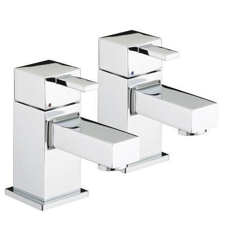 Bristan - Quadrato Bath Taps - Chrome - QD-3/4-C