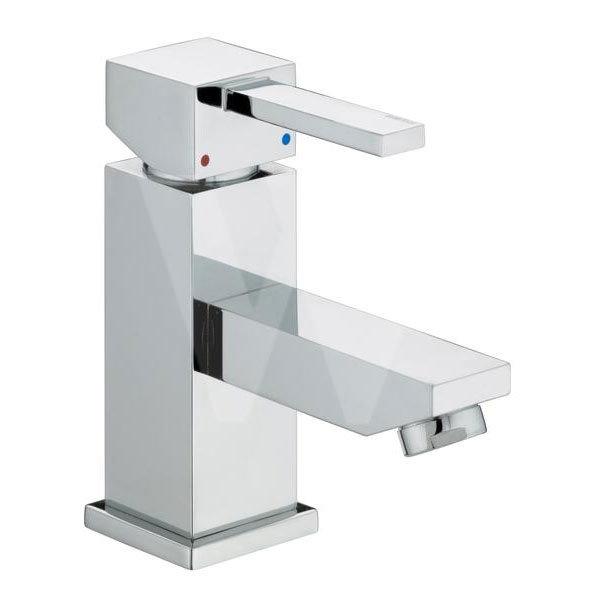 Bristan - Quadrato Small Basin Mixer (no waste) - Chrome - QD-SMBAS-C Large Image