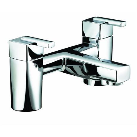 Bristan - Qube Bath Filler - Chrome - QU-BF-C