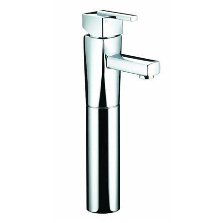 Bristan - Qube Tall Basin Mixer (no waste) - Chrome - QU-TBAS-C