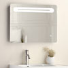 Quebec 650x500mm LED Mirror Inc. Touch Sensor, Anti-Fog + Shaving Port Small Image