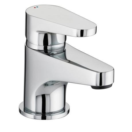 Bristan - Quest Contemporary Basin Mixer w/ Clicker Waste - Chrome - QST-BAS-C