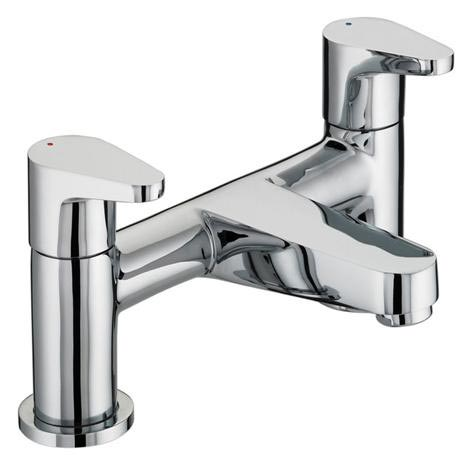 Bristan - Quest Contemporary Bath Filler - Chrome - QST-BF-C