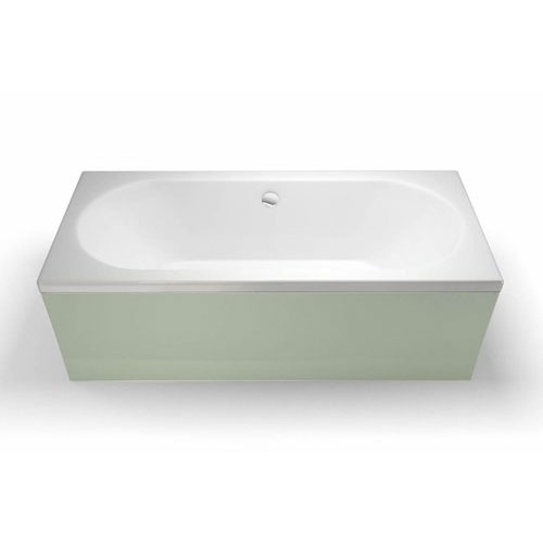Cleargreen - Verde Double Ended Acrylic Bath profile large image view 1