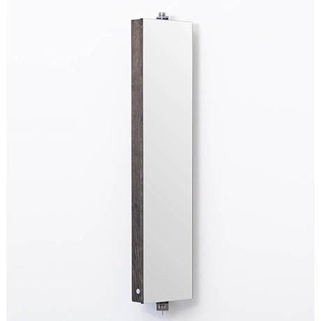 1110mm Revolving Mirror Cabinet Dark Oak