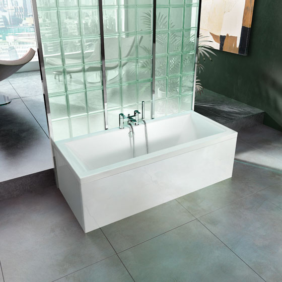 Cleargreen - Enviro Double Ended Acrylic Bath Profile Large Image