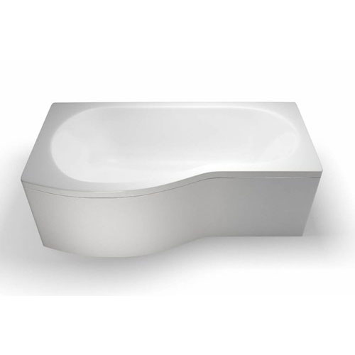 Cleargreen - EcoRound 1700mm Shower Bath - Left or Right Hand Option Large Image