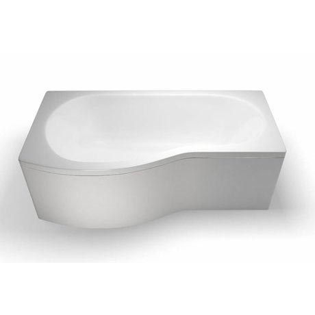 Cleargreen - EcoRound 1700mm Shower Bath - Left or Right Hand Option