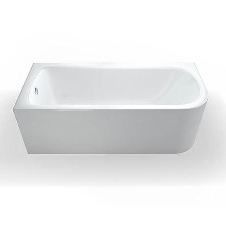 Britton Clearline Viride 1700mm x 750mm Offset Bath