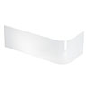 Britton Viride Offset Bath Panel 1700 x 750mm profile small image view 1