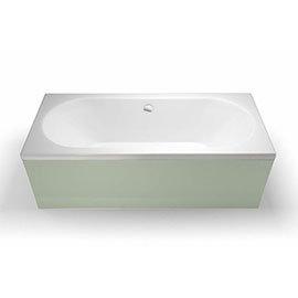 Britton Clearline Verde Double Ended Bath