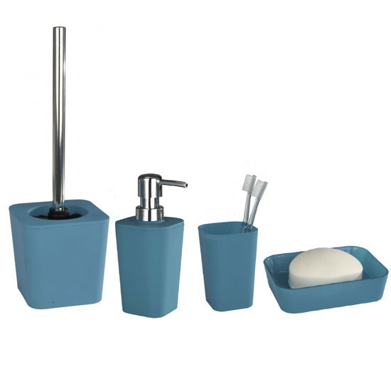 Wenko Rainbow Bathroom Accessories Set Turquoise At Victorian. Bathroom Accessories Uk   gerryt com