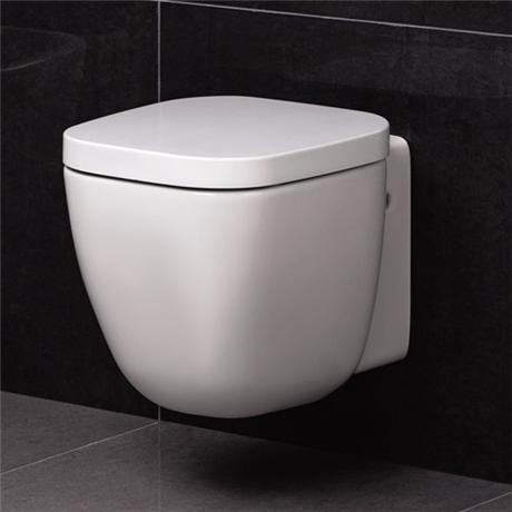 RAK - Elena wall hung WC Toilet with soft close seat