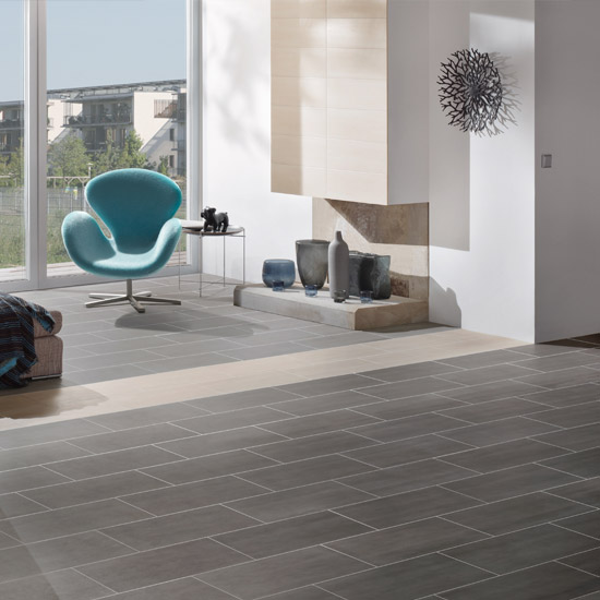 RAK - 6 Dolomite Matt Black Porcelain Tiles - 300x600mm - 9GPDOLOMITE-BK Profile Large Image