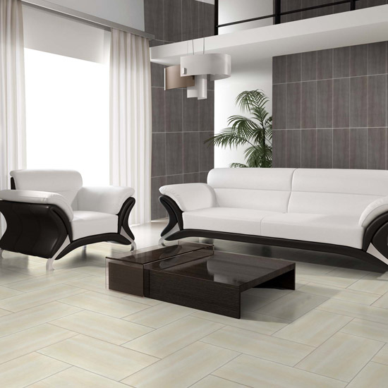RAK - 6 Dolomite Matt Black Porcelain Tiles - 300x600mm - 9GPDOLOMITE-BK Feature Large Image