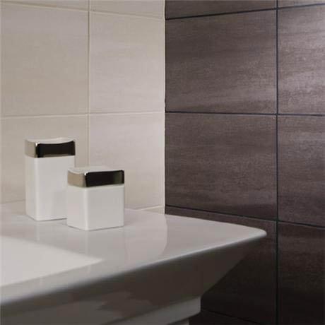 Rak 6 Dolomite Matt Black Porcelain Tiles 300x600mm A09gzdol Bk0 M2r