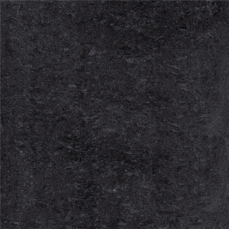 RAK - 4 Lounge Black Porcelain Unpolished Tiles - 600x600mm - 6GPD-57UP