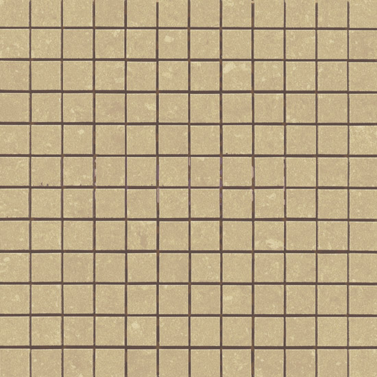 RAK - Lounge Beige Porcelain Mosaic Unpolished Tile Sheet - 300x300mm - 7GPD53UP-MOS Large Image