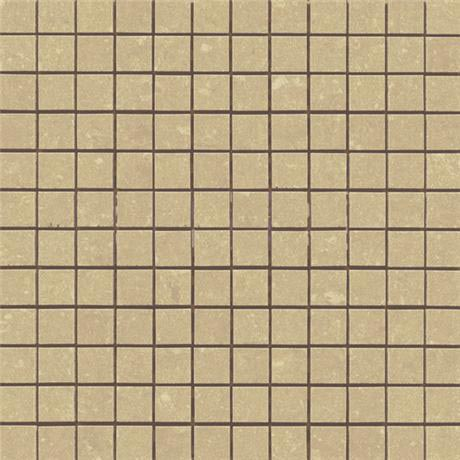RAK - Lounge Beige Porcelain Mosaic Unpolished Tile Sheet - 300x300mm - 7GPD53UP-MOS
