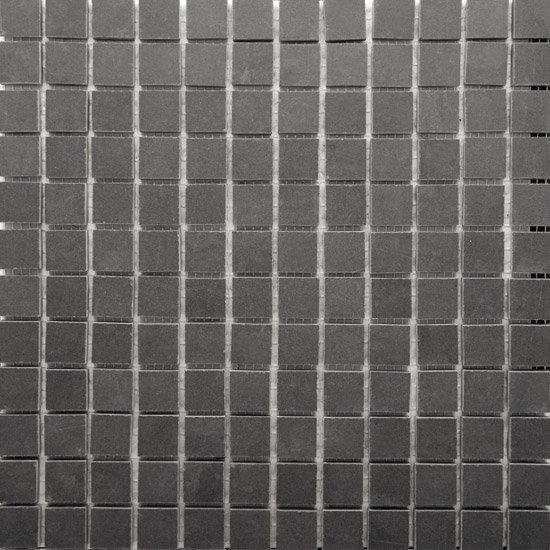 RAK - Lounge Dark Grey Porcelain Mosaic Polished Tile Sheet - 300x300mm - 7GPD56-MOS Large Image