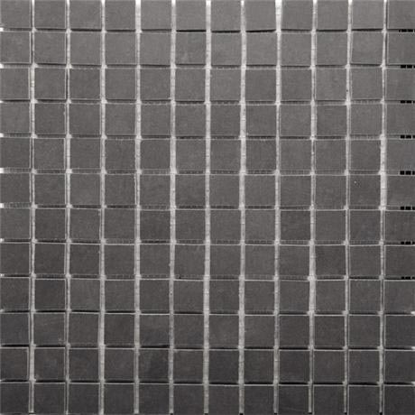 RAK - 1 Lounge Dark Grey Porcelain Mosaic Unpolished Tile Sheet - 300x300mm - 7GPD56UP-MOS