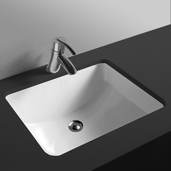 RAK Cleo 50cm Under Counter Wash Basin - CLEOBAS profile large image view 1