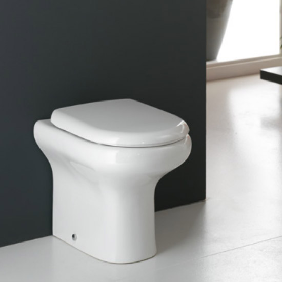 RAK Compact BTW WC with Soft Close Wrap Over Urea Seat profile large image view 2
