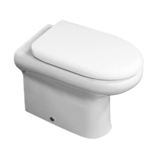 RAK Compact BTW WC with Soft Close Wrap Over Urea Seat Large Image