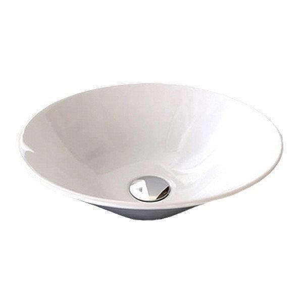 RAK - Cone Sit On Vanity Basin - No TH - CONBAS Profile Large Image