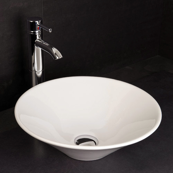 RAK - Cone Sit On Vanity Basin - No TH - CONBAS Large Image