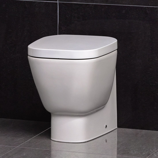 RAK - Elena Back to wall WC pan with soft close seat Large Image