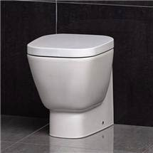 RAK - Elena Back to wall WC pan with soft close seat Medium Image