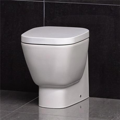 RAK - Elena Back to wall WC pan with soft close seat