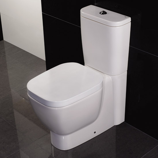 RAK - Elena Close Coupled Pan & Cistern with Soft Close Seat Profile Large Image