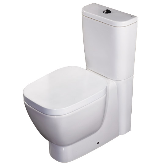 RAK - Elena Close Coupled Pan & Cistern with Soft Close Seat Large Image