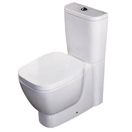 RAK - Elena Close Coupled Pan & Cistern with Soft Close Seat