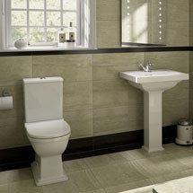 RAK Empire 4 Piece Suite - Close Coupled WC & Basin Medium Image