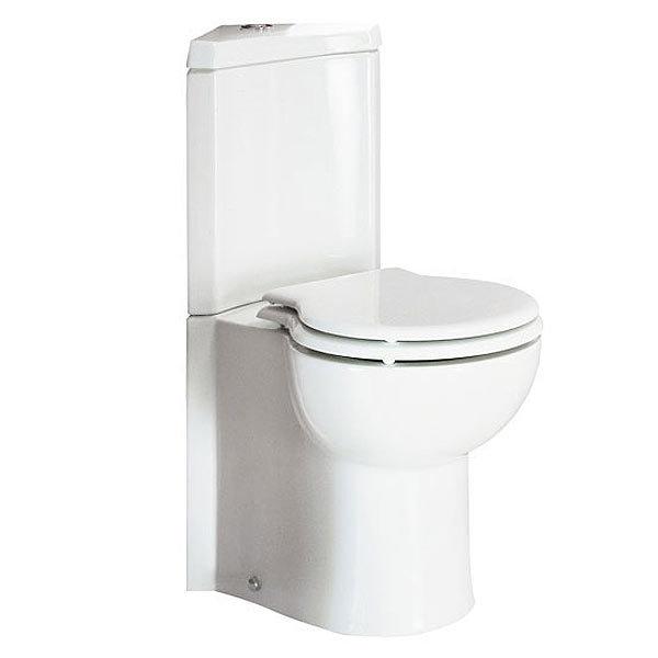 RAK Evolution 4 Piece Suite - Corner Toilet & Basin Profile Large Image