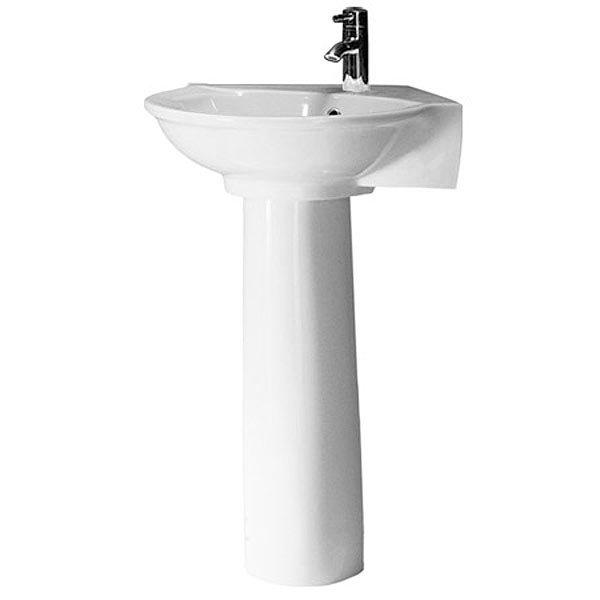 RAK Evolution 4 Piece Suite - Corner Toilet & Basin Feature Large Image