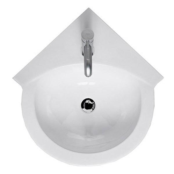 RAK Evolution 4 Piece Suite - Corner Toilet & Basin Standard Large Image