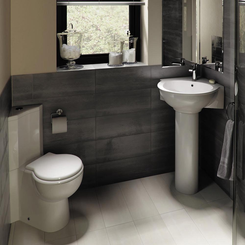 RAK Evolution Corner Close Coupled WC & Soft Close Seat Profile Large Image