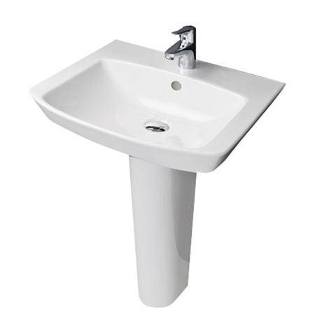 RAK - Highline 55cm basin 1th with full pedestal