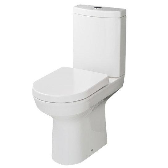 RAK - Highline Close Coupled Toilet with Soft Close Seat Large Image