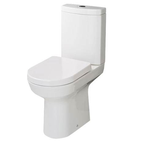 RAK - Highline Close Coupled Toilet with Soft Close Seat