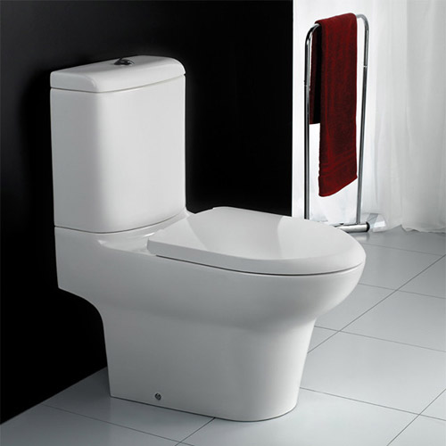 RAK - Infinity Close Coupled Full Access Toilet with Soft Close Seat Profile Large Image