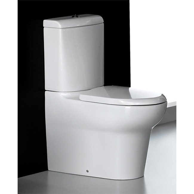 RAK - Infinity Close Coupled BTW Toilet inc Soft Close Seat Profile Large Image