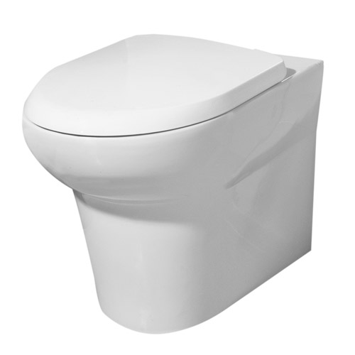 RAK - Infinity Back to wall WC pan with soft close seat Large Image