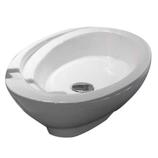 RAK - Infinity 58cm Large Counter Top Basin - INFLCTBAS profile large image view 2