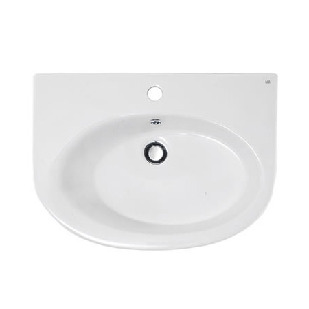 RAK - Infinity 50cm basin and Half pedestal profile large image view 2